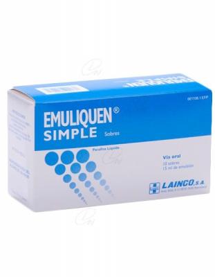 EMULIQUEN SIMPLE 7.173,9 mg EMULSION ORAL EN SOBRES, 10 sobres de 15 ml