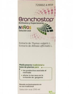 bronchostop niños 200ml