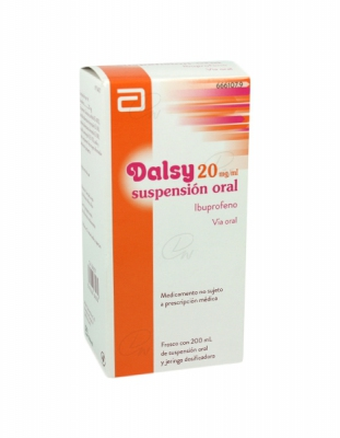 DALSY 20 mg/ml SUSPENSION ORAL