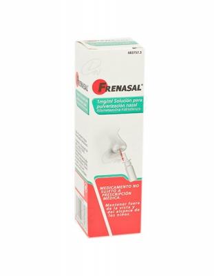 FRENASAL 1mg/ml SOLUCION PARA PULVERIZACION NASAL, 1 envase pulverizador de 10 ml