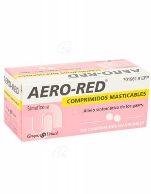 AERO RED COMPRIMIDOS MASTICABLES, 100 comprimidos