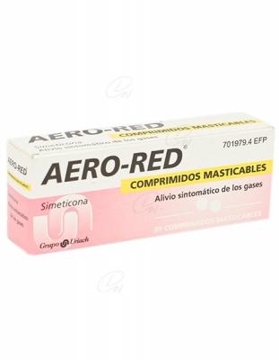 AERO RED COMPRIMIDOS MASTICABLES, 30 comprimidos
