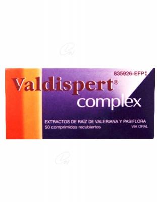 VALDISPERT COMPLEX, 50 comprimidos