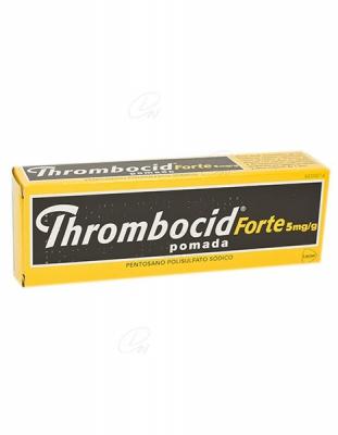 THROMBOCID FORTE 5 mg/g POMADA, 1 tubo de 60 g