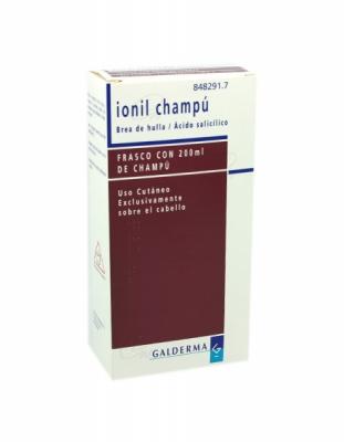 IONIL CHAMPU, 1 frasco de 200 ml