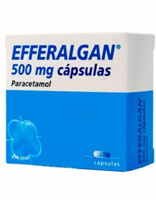 EFFERALGAN 500 mg COMPRIMIDOS EFERVESCENTE, 20 comprimidos