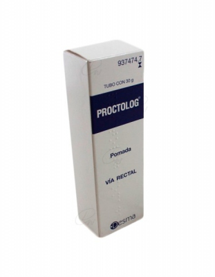 PROCTOLOG POMADA, 1 tubo de 30 g
