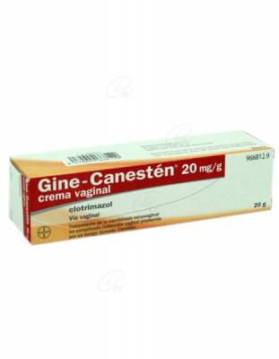 GINE-CANESTEN 20 mg/g CREMA VAGINAL, 1 tubo de 20 g