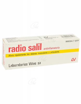 RADIO SALIL ANTIINFLAMATORIO CREMA, 1 tubo de 60 g