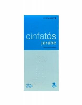 CINFATOS 2 mg/ ml SOLUCION ORAL, 1 frasco de 125 ml