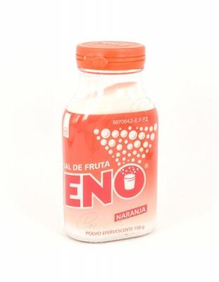 SAL DE FRUTA ENO NARANJA, 1 frasco de 150 g